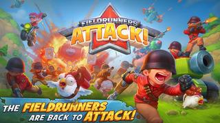 Fieldrunners Attack – Game thủ thành kiểu Clash of Clans CHÍNH THỨC ra mắt toàn cầu