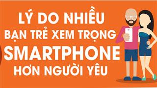 Lý do nhiều bạn trẻ xem trọng smartphone hơn việc có người yêu