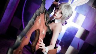 Ngắm Riven Thỏ Ngọc tuyệt đẹp được cosplay bởi người đẹp Hàn Quốc TTCle