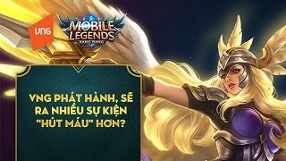 Mobile Legends: Bang Bang VNG game thủ hỏi nhà phát hành trả lời