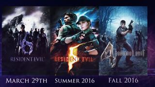 Capcom cố gắng hút máu game thủ khi remake một loạt game Resident Evil