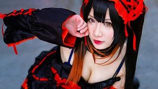 Cosplay mỹ nữ Tokisaki Kurumi đầy quyến rũ trong Date a Live