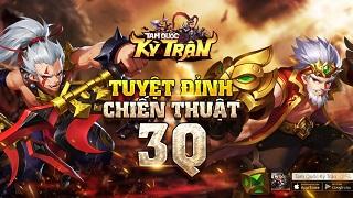 Funtap thông báo sắp ra mắt Tuyệt đỉnh chiến thuật 3Q mới mang tên Tam Quốc Kỳ Trận