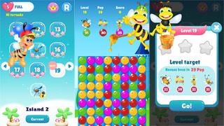 Bee Of King - Bubble Pop: Game dành cho người bị Stress, Made in Việt Nam