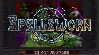 """Game online """"đẩy nhau"""" cực nhộn Spellsworn rục rịch mở cửa miễn phí"""