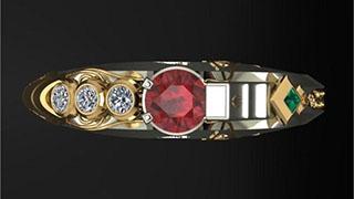 Chiếc nhẫn lấy cảm hứng từ Khada Jhin trong Liên minh huyền thoại