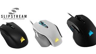 CORSAIR ra mắt 3 dòng chuột chơi game mới tích hợp công nghệ không dây SLIPSTREAM CORSAIR