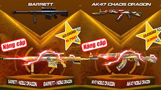 CFL – Cơ hội quá tuyệt để sở hữu AK47-Noble Dragon & Barrett-Noble Dragon