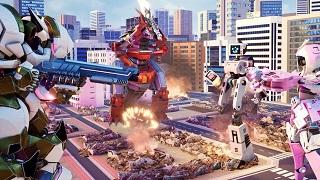 Override: Mech City Brawl - tựa game robot cực ấn tượng sắp đến tay game thủ