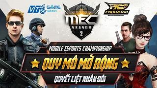 MEC Season 2 khởi tranh tổng giải thưởng 500 triệu đồng, chính thức áp dụng cơ chế thăng hạng