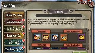 TLBB3D mở Bá Nghiệp - chiến trường mới liên server cho mọi game thủ