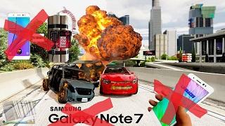 """Samsung """"trả đũa"""" vụ Note7 bị chế thành bom trong GTA V"""
