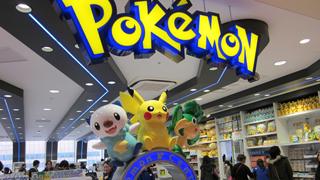 Cửa hàng chuyên bán quà lưu niệm Pokémon
