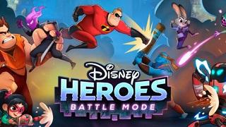 Disney Heroes: Battle Mode - Tựa game giải cứu thế giới với các siêu anh hùng Disney và Pixar