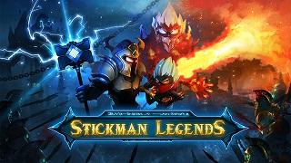 """Chặt chém cực đã tay phiên bản """"người que"""" với Stickman Legends"""