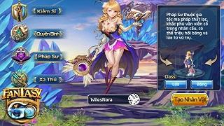 Chơi class nào để 'bá đạo' nhất Fantasy GO sắp ra mắt