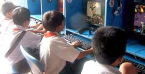 Thời cắp sách đi học và game