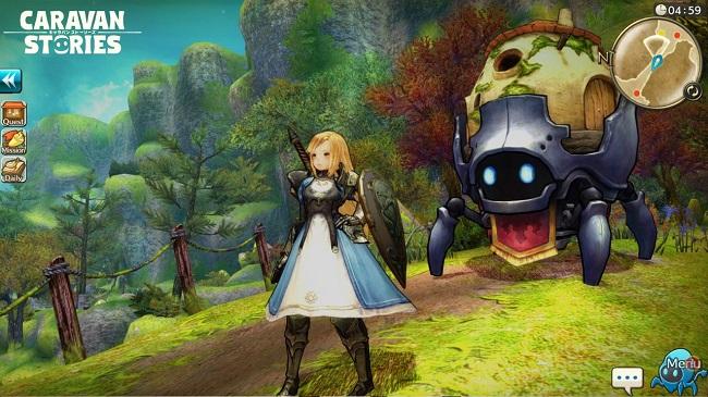 Caravan Stories - tựa game MMORPG đa nền tảng đầy hấp dẫn đến từ Nhật Bản