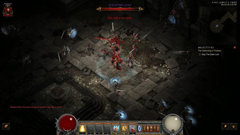 Màn chơi hầm ngục kinh điển trong Diablo I đã chính thức được remake trên Diablo III
