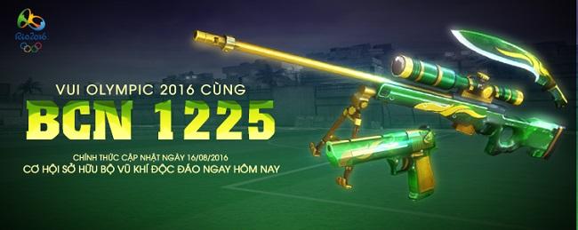 Bộ súng 'Hoàng Xuân Vinh' ra mắt game thủ Đột Kích