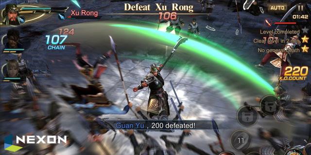 Nhanh tay đăng ký để trải nghiệm siêu phẩm 3D Tam Quốc - Dynasty Warriors: Unleashed