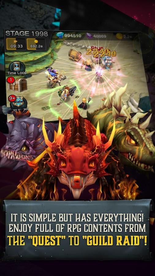 Endless Dungeon: Dragon Saga – tân binh RPG 3D thú vị vừa đổ bộ mobile