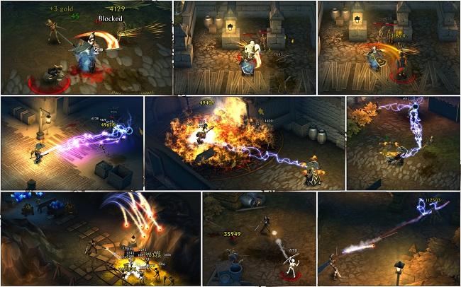 Eternium: Mage And Minions - chặt chém điên cuồng như Diablo trên di động