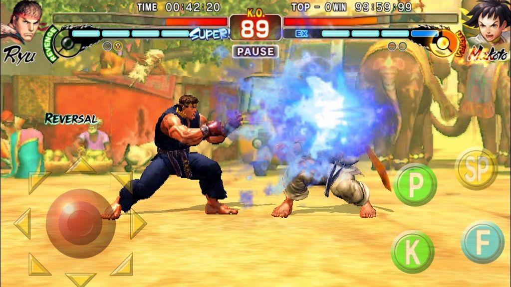 Bom tấn Street Fighter IV: Champion Edition vừa chính thức đổ bộ Android