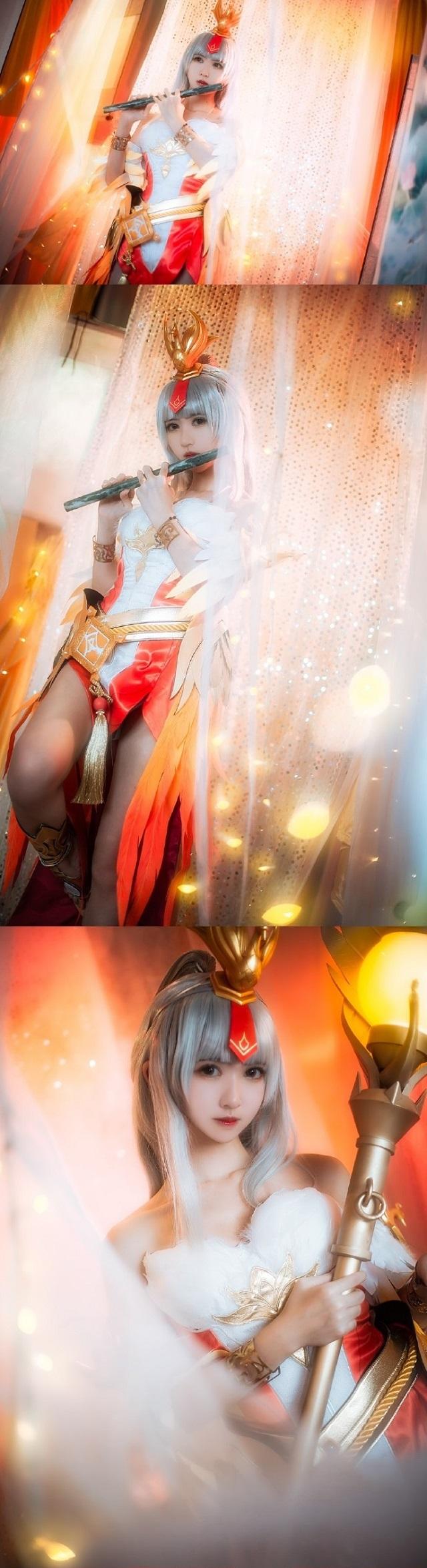 Cosplay mỹ nhân Vương Chiêu Quân đầy ma mị trong King of Glory