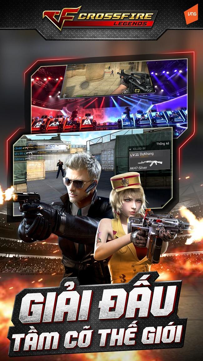 Crossfire Legends sẽ có hệ thống giải đấu khủng không kém bản Trung Quốc