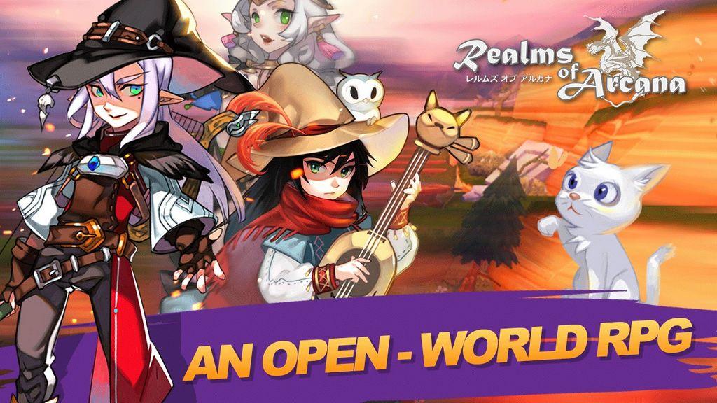 Realms of Arcana: tân binh MMORPG đồ hoạ chibi độc đáo vừa ra mắt