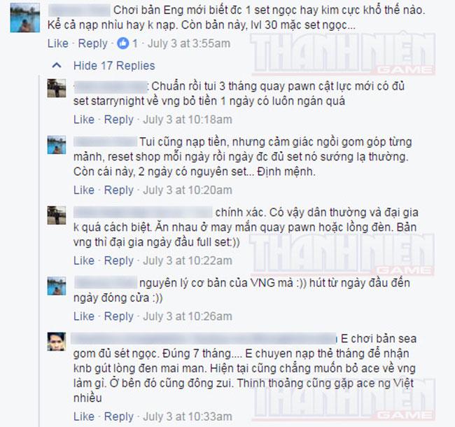 Game thủ Việt rủ nhau quay lại máy chủ quốc tế để chơi Cửu Âm Chân Kinh