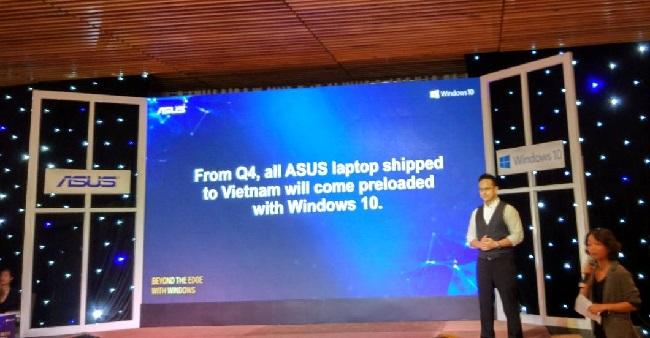Từ nay gaming laptop của ASUS sẽ được cài đặt sẵn Windows bản quyền