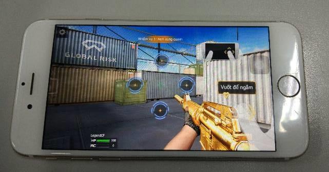 Crossfire Legends chạy mượt mà trên iOS