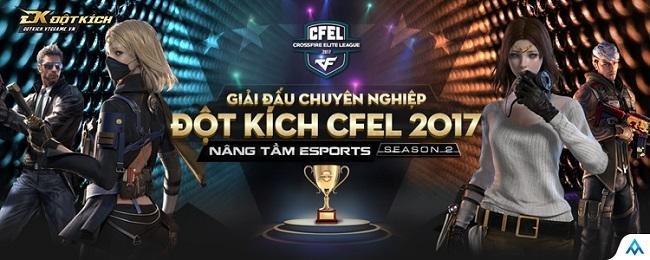 Giải chuyên nghiệp Đột Kích CFEL chính thức trở lại
