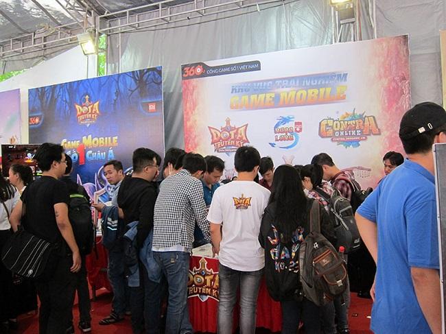 """Hoành tránh với """"Ngày hội game thủ 2015"""" của VNG"""