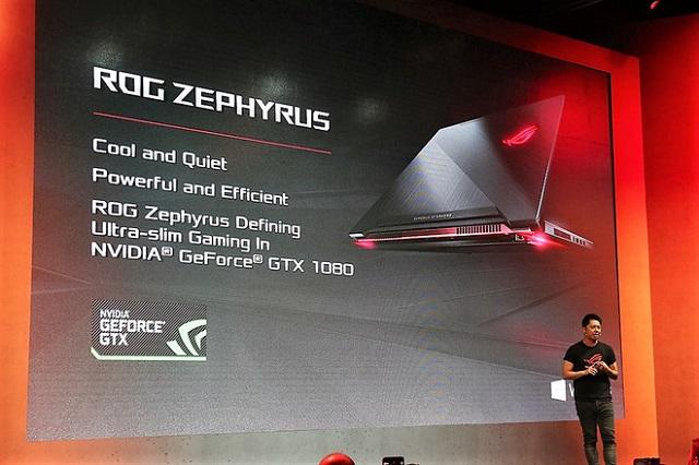 Asus ra mắt laptop gaming Zephyrus mỏng nhất thế giới, design độc đáo