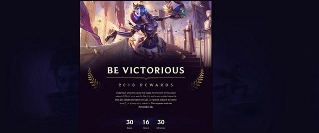LMHT: Riot Games công bố phần thưởng đấu xếp hạng mùa giải 2018