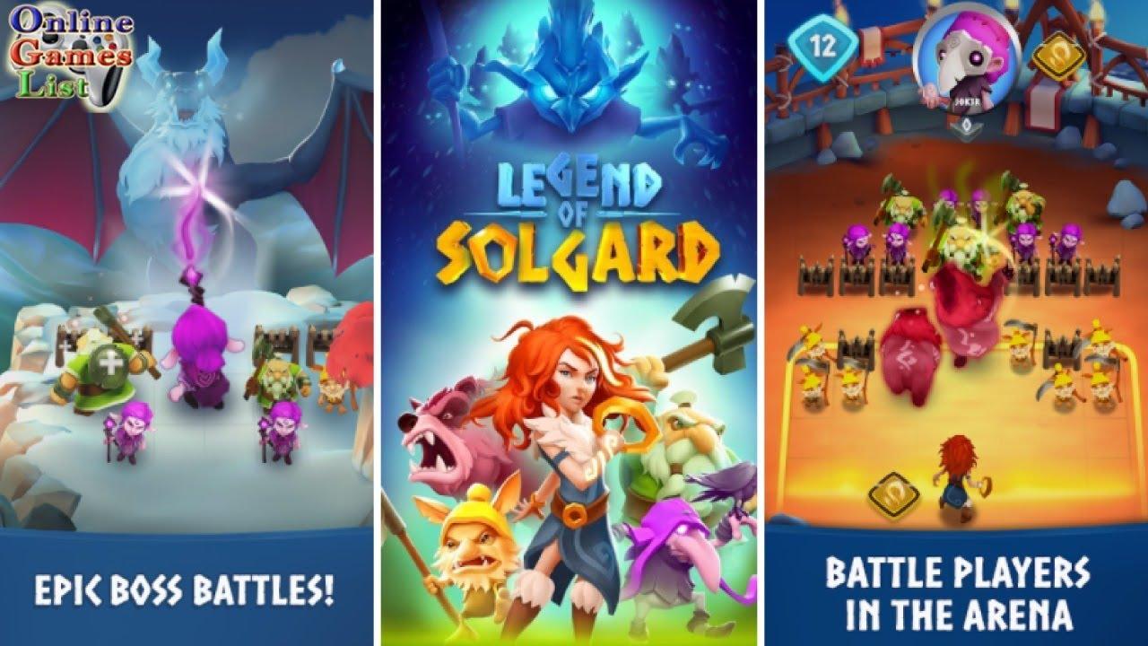 """Legend of Solgard: tân binh thú vị từ """"cha đẻ"""" Candy Crush vừa ra mắt"""