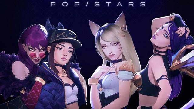 LMHT: 'POP/STARS' của K/DA đạt top 1 BXH Billboard