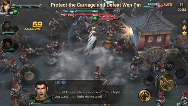 """Dynasty Warriors Unleashed - Tam Quốc """"chính chuẩn"""" đã được phát hành trên Android và iOS"""
