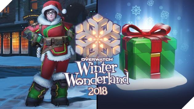 Người chơi sẽ nhận được 5 loot box miễn phí khi đăng nhập vào Overwatch