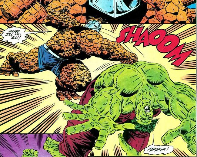 Mặc dù khi đưa lên phim, các nhà sản xuất đã tối giản kha khá sức mạnh của  Hulk nhằm cần bằng lực lượng, nhưng nếu là fan truyện tranh, ...