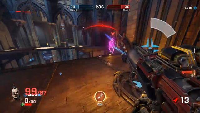 """""""Cơn bão"""" online Quake Champions vừa công bố mở cửa không giới hạn"""