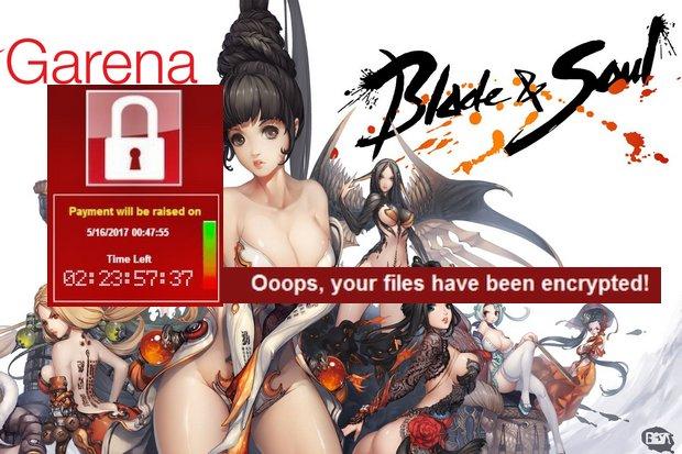 WannaCry đánh sập server Blade & Soul tại Thái Lan