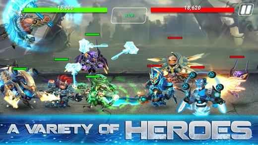 Heroes Infitnity – tựa game nhập vai đi cảnh thuần Việt siêu thú vị