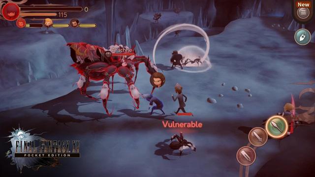Final Fantasy XV: Pocket Edition vừa hé lộ gameplay đầy ấn tượng