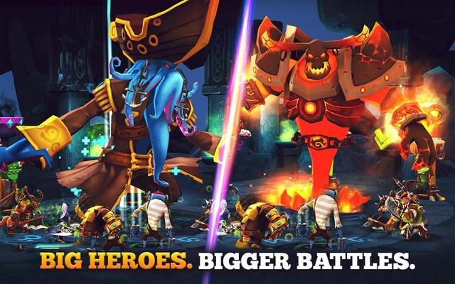 Giants War chuẩn bị ra mắt trên toàn thế giới