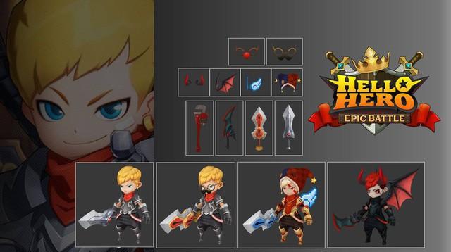 Hello Hero: Epic Battle - Siêu phẩm RPG 3D cực hot trên Facebook vừa chính thức ra mắt
