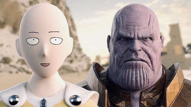 """Saitama """"đụng độ"""" Thanos - Ai sẽ là người chiến thắng?"""